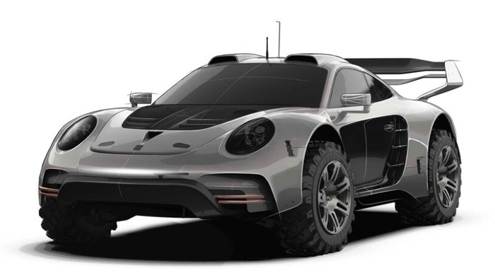 Modifikasi Porsche 911