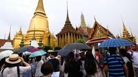 Sebelum virus Corona menerjang, Thailand dipadati turis dari China. Ramainya bukan main (Getty Images)