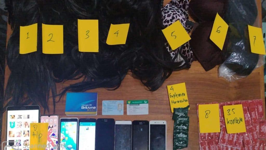 Prostitusi Online Khusus Gay Dibongkar Polda Jateng