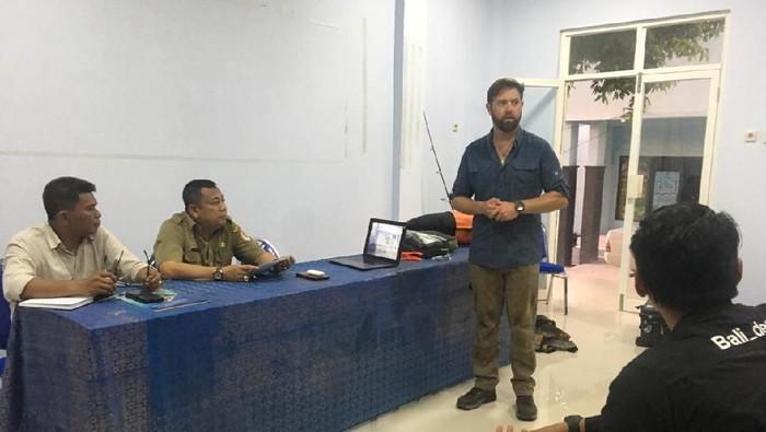 Forrest Galante Akan Gabung Satgas Penyelamatan Buaya Berkalung Ban