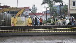 Detik-detik Pipa Gas Bocor di Lokasi Proyek Tol Layang Cakung