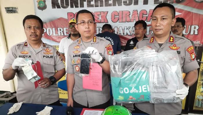 Polisi tangkap driver ojol pelaku begal payudara di Jaktim