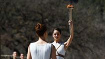 Melihat Lebih Dekat Seremoni Penyalaan Obor Olimpiade