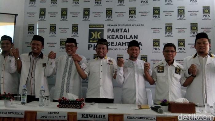 PKS umumkan Wakil Ketua DPRD Sumut Salman Alfarisi sebagai cawalkot Medan