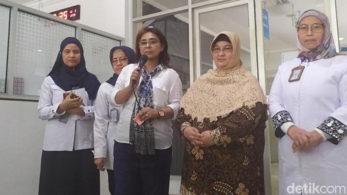 Juru Bicara Tim Penanganan Covid-19 RSUP Persahabatan, Erlina Burhan.