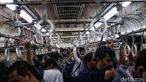 KRL Rute Angke-Bogor Sempat Padat di Hari Pertama Lebaran, Ini Penjelasan KCI