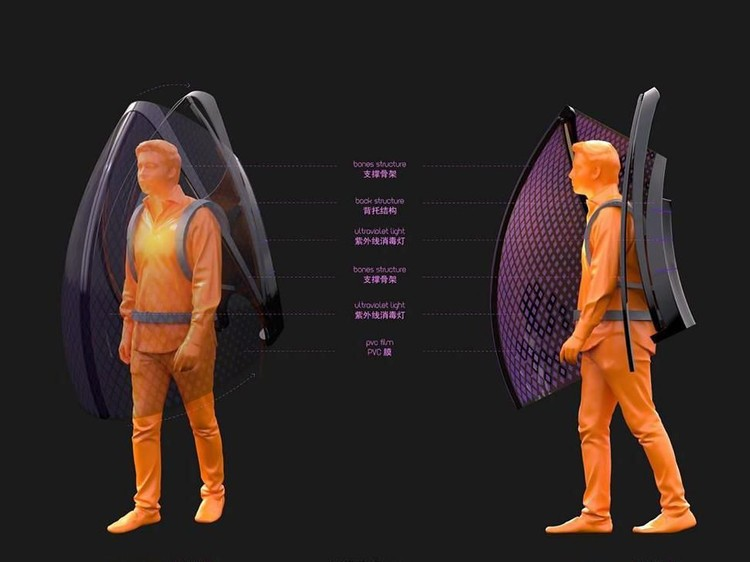 Baju Anti Virus Corona Rancangan China
