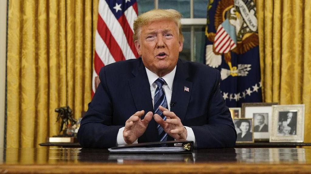 Cuitannya Dilabeli Klaim Palsu, Trump Tuduh Twitter Campuri Pilpres AS