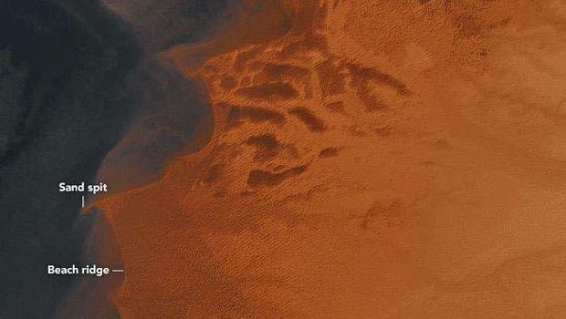 NASA Temukan Bekas Danau Kuno di Gurun Sahara