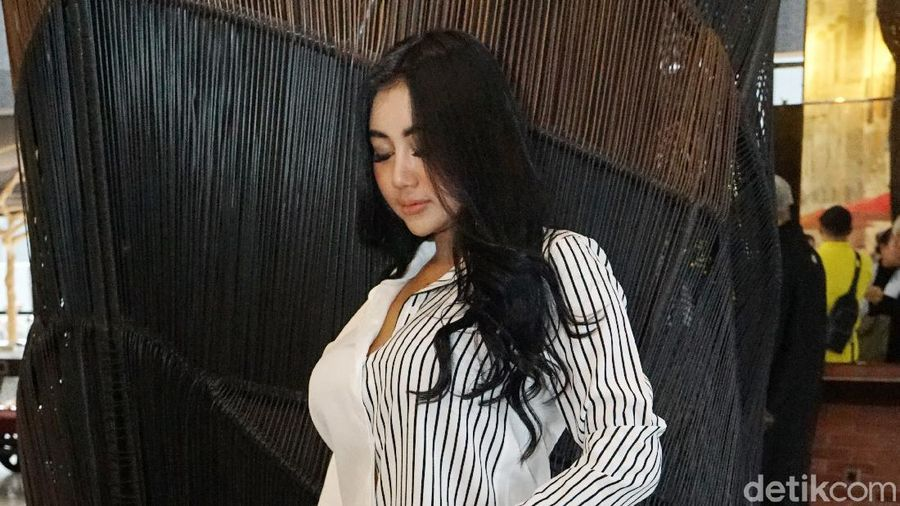 Pamela Safitri saat ditemui di kawasan Pecenongan.