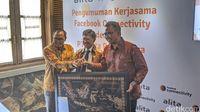 Facebook dan Alita Kerjasama Bangun Jaringan Fiber Optik di Indonesia