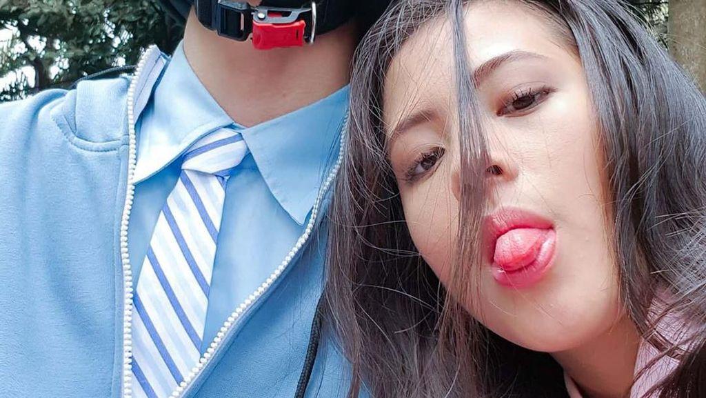 Foto: Kemesraan Bintang Mariposa Zara & Angga yang Bikin Gemes