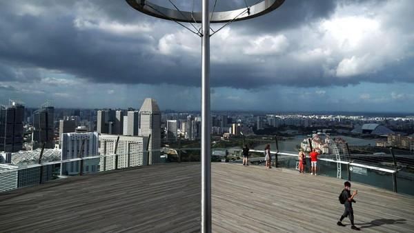 Namun sejak wabah virus Corona melanda Singapura, turis yang ke sini bisa dihitung dengan jari (Reuters)