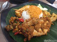 Tips Makan Nasi Padang Rendah Kalori ala Penyiar Kemal Mochtar