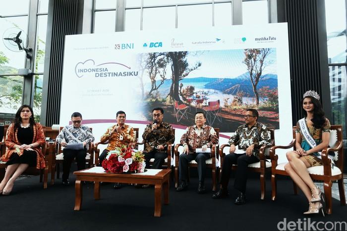 Program Indonesia Destinasiku diluncurkan di Jakarta. Diharapkan gerakan ini dapat memberi efek positif bagi sektor pariwisata Indonesia yang tengah menghadapi corona.