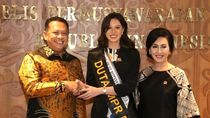 Finalis Puteri Indonesia Sumbar Ditunjuk MPR Sosialisasikan Pancasila