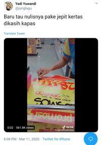 Bikin Netizen Takjub, Begini Cara Tulis Info Harga di Supermarket