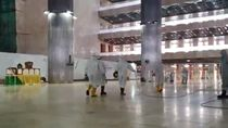 Cegah Persebaran Corona, Mikrofon-Uang Koin di Masjid Istiqlal Disterilkan