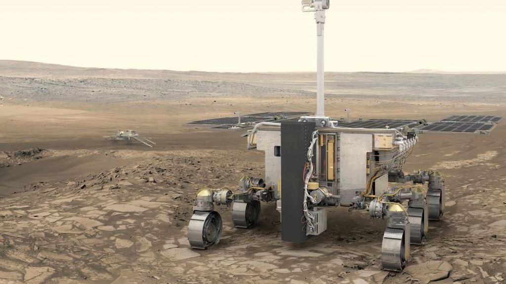 Misi Eropa-Rusia ke Mars Ditunda Hingga 2022 karena Virus Corona