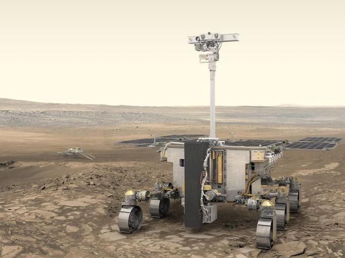 Robot penjelajah Rosalind Franklin untuk misi ExoMars