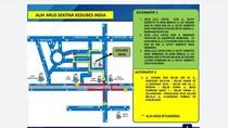 Ada Aksi di Kedubes India, Ini Rekayasa Lalin di Jl Rasuna Said