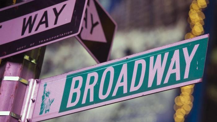 Panggung Broadway di New York