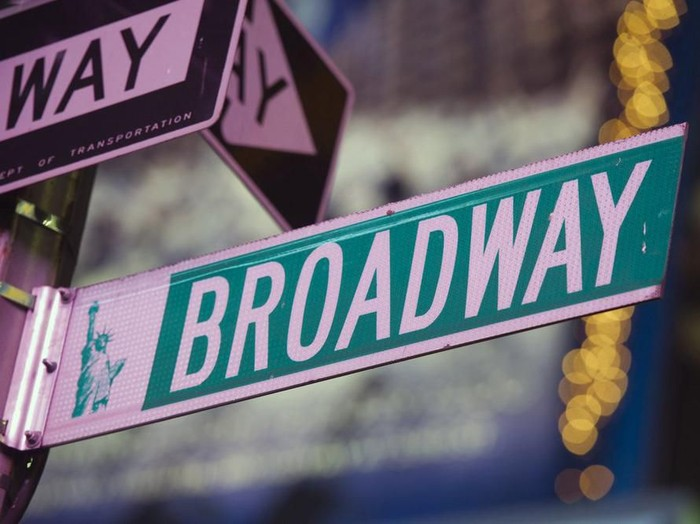 Panggung Broadway di New York