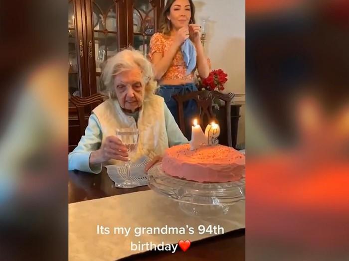 kejutan ulang tahun nenek