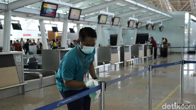 Pembersihan Bandara Ngurah Rai