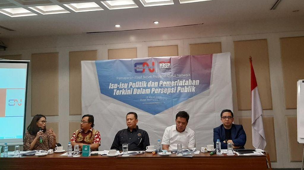 Prabowo Capres Terkuat 2024 di Survei Cyrus, Gerindra: Kerja Menhan Diapresiasi