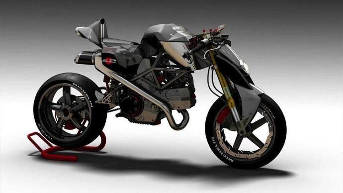 Modifikasi Ducati Monster
