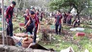 Bakal Dipantau Satpol PP Depok, Warga Diminta Setop Dangdutan di Kuburan
