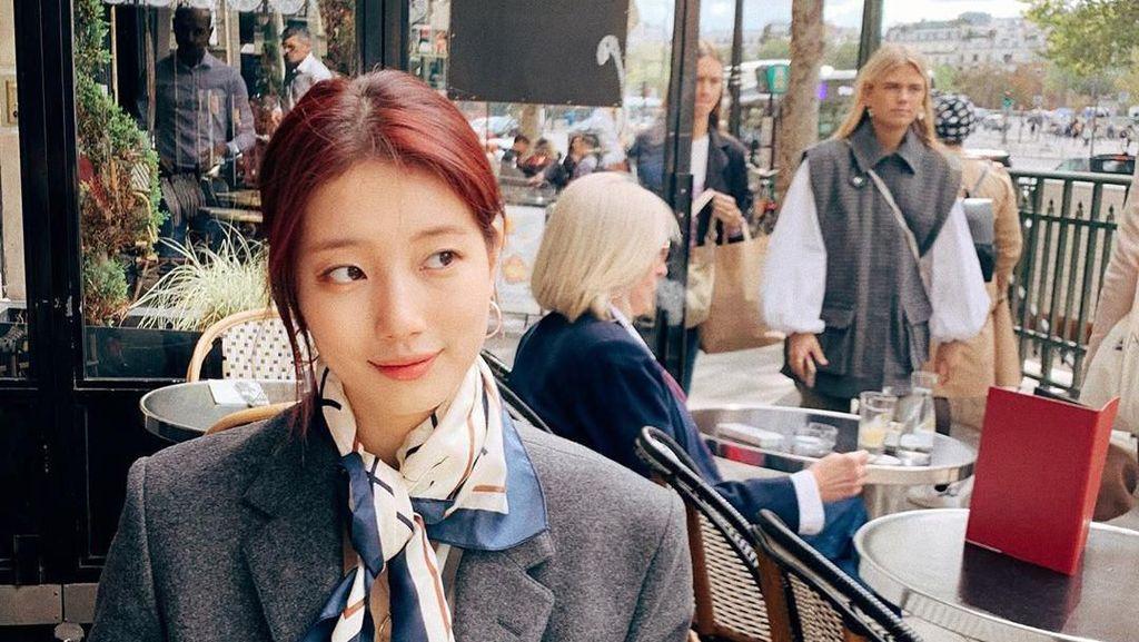 Gaya Kasual Bae Suzy yang Bisa Jadi Inspirasi Busana Kamu Sehari-hari