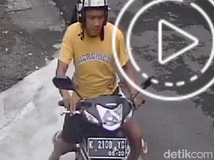 Viral pemotor culik dan buka-buka rok bocah di Yogyakarta, Jumat (13/3/2020).