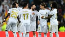 Skuad Real Madrid Sepakati Pemotongan Gaji