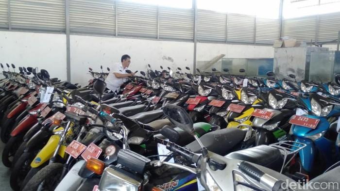 Pemkot Cimahi lelang ratusan motor untuk menghemat biaya pemeliharaan