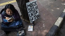 Pelajar SMA di Jakarta Mogok Sekolah untuk Hutan