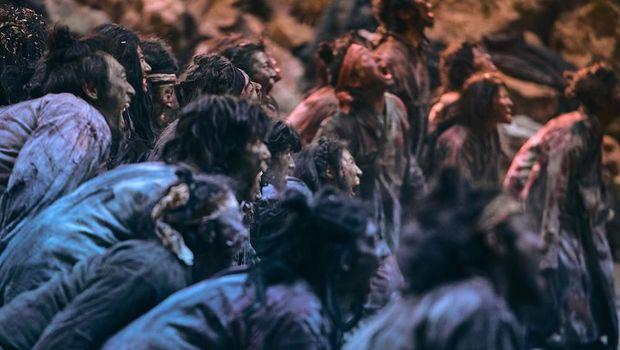 Adegan-adegan di film 'Kingdom' musim kedua.