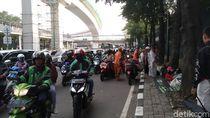 Massa Aksi 212 Depan Kedubes India Bubar, Lalu Lintas Dibuka