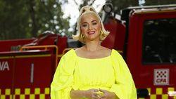 Lihat Jari Kakinya Saat Hamil, Katy Perry Nangis Terus
