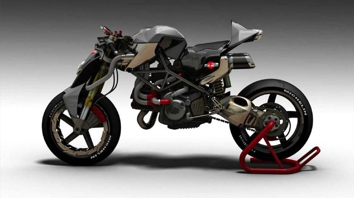 Modifikasi Ducati Monster