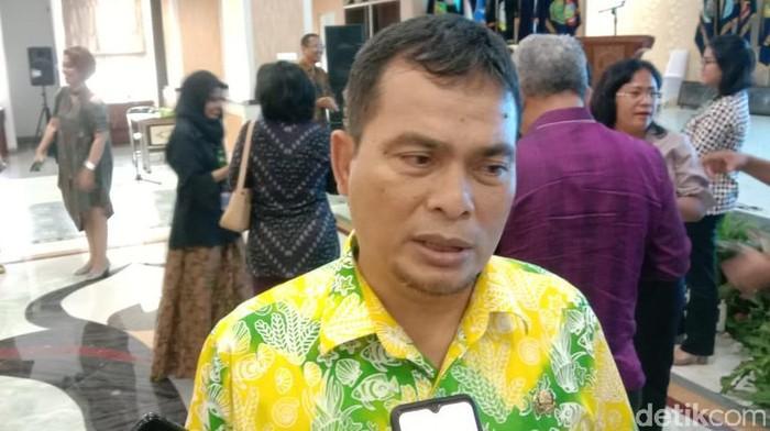 Kadis Kesehatan Sumut, Alwi Mujahit Hasibuan (Ahmad Arfah/detikcom)