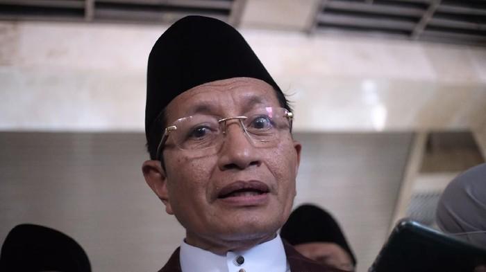 Imam Besar Masjid Istiqlal Nasaruddin Umar. (Foto: Andhika/detikcom)
