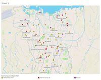 Anies Ungkap Peta Sebaran Corona di Jakarta, Ini Penampakannya