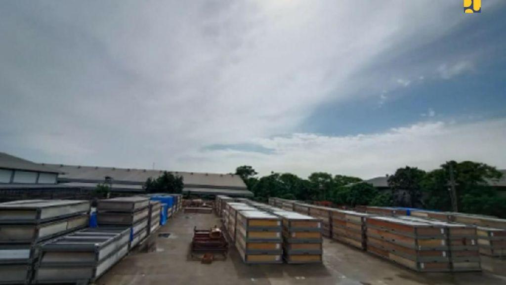 Pembangunan Tempat Karantina Pasien Covid-19 di Batam Menapai 50%