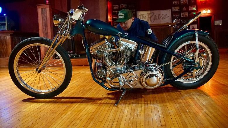 Motor modifikasi anak bangsa batal tampil di Amerika Serikat karena Corona