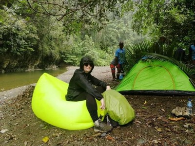 Camping Asyik di Kalibiru, Raja Ampat