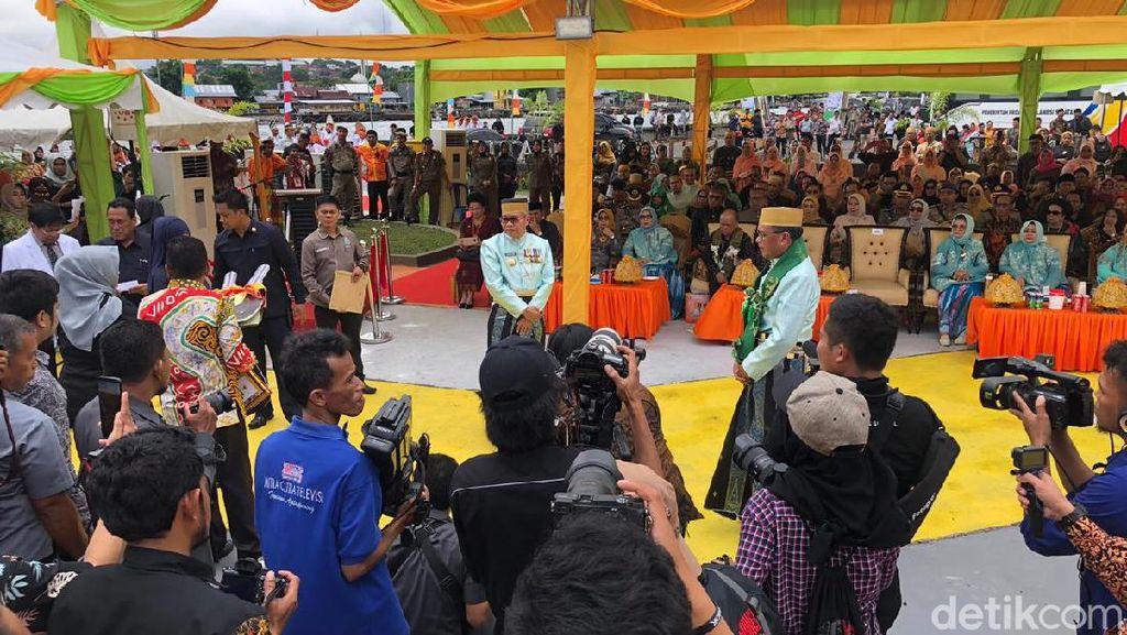 Gubernur Sulsel Nurdin Resmikan RSR Hasri Ainun Habibie di Parepare