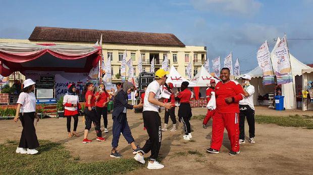 HUT ke 59, Hutama Karya Gelar Pasar Raya Sumatera di 4 Kota