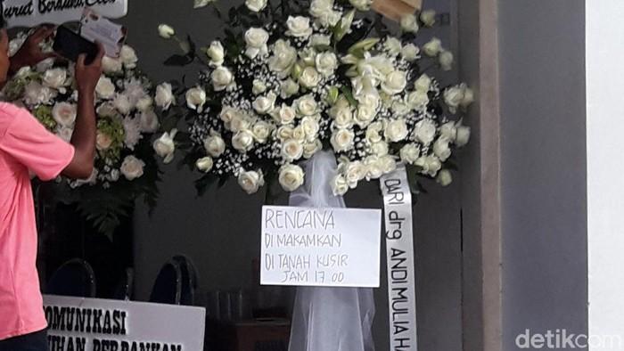 Pengumuman pemakaman Kepala PPATK Kiagus Ahmad Badaruddin
